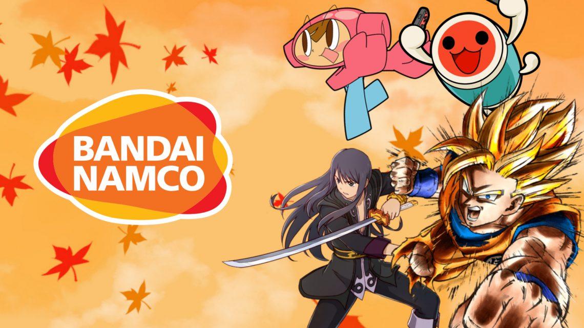 "Bandai Namco ""November Games Under $15"" | Mr. Driller DrillLand, Tales of Vesperia: Definitive Edition, Super Dragon Ball Heroes: World Mission, e mais jogos abaixo de US$ 15 na eShop"