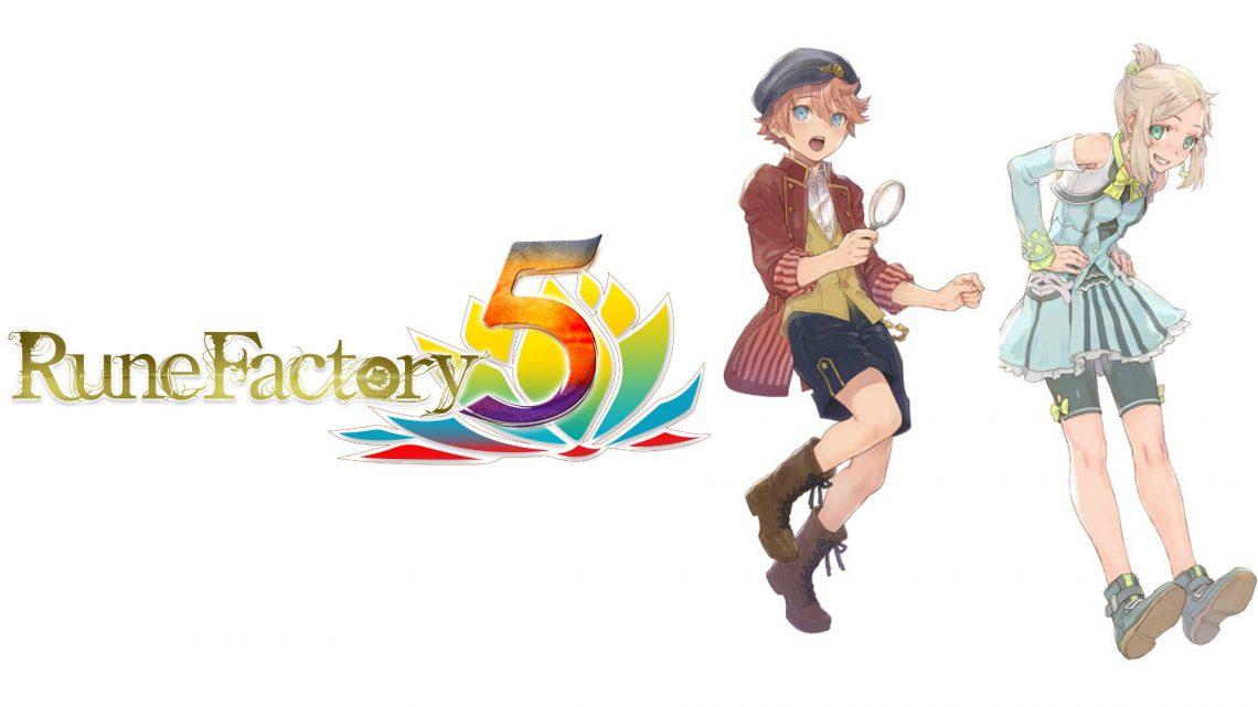 Rune Factory 5 | Detalhes para as opções de romance Lucy e Cecil, introduzindo os novos moradores da cidade Simone, Terry, Hina e Julian