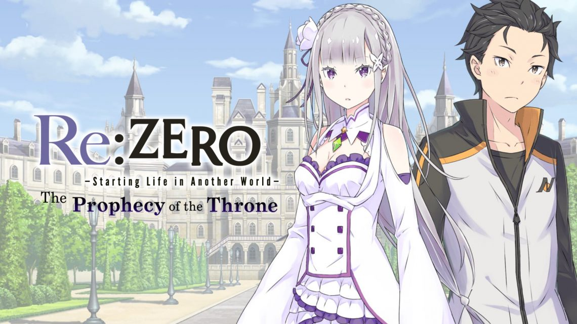 Re:Zero – Starting Life in Another World The Prophecy of the Throne | Novo trailer para os personagens do jogo