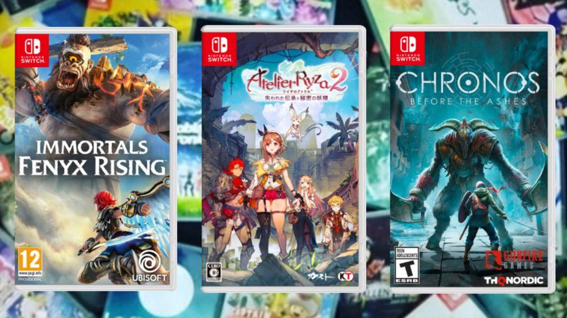 Jogos em formato físico da semana   Chronos: Before the Ashes, Atelier Ryza 2: Lost Legends & the Secret Fairy, Immortals Fenyx Rising, e mais