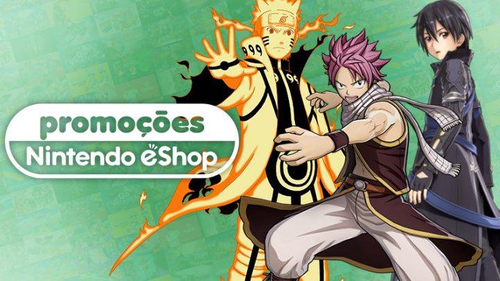 Promoções na eShop da América do Norte | Fairy Tail, Monster Hunter Generations Ultimate, jogos da Bandai Namco, e muito mais
