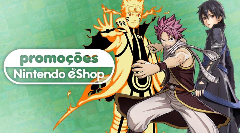 Promoções na eShop da América do Norte   Fairy Tail, Monster Hunter Generations Ultimate, jogos da Bandai Namco, e muito mais