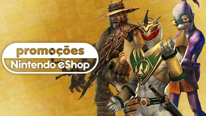 Promoções na eShop da América do Norte | Power Rangers: Battle for the Grid, Romancing SaGa 3, Oddworld: Munch's Oddysee, e muito mais