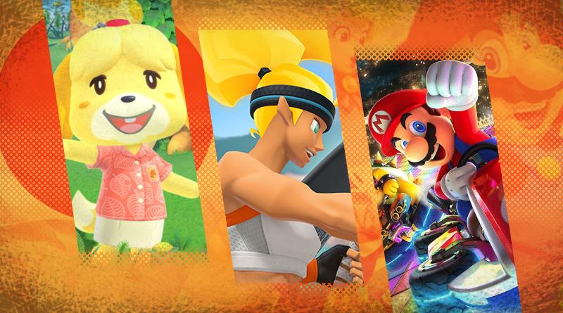 Nintendo revela os 10 jogos do Nintendo Switch mais vendidos em 2020 no Japão