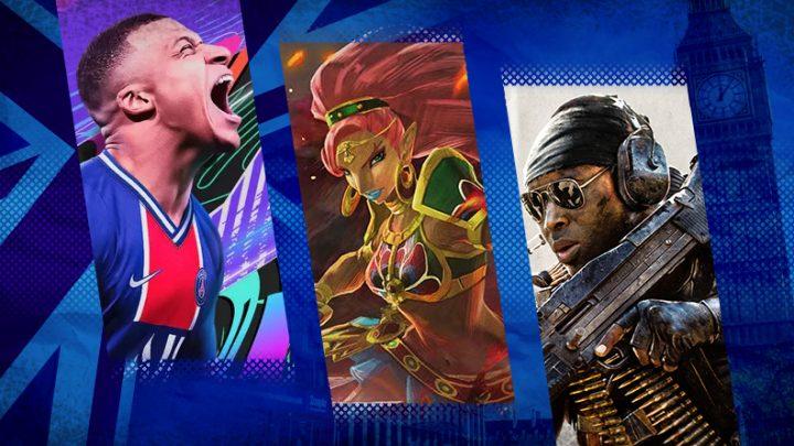 Reino Unido: Top 40 jogos mais vendidos entre os dias 22 e 28 de novembro