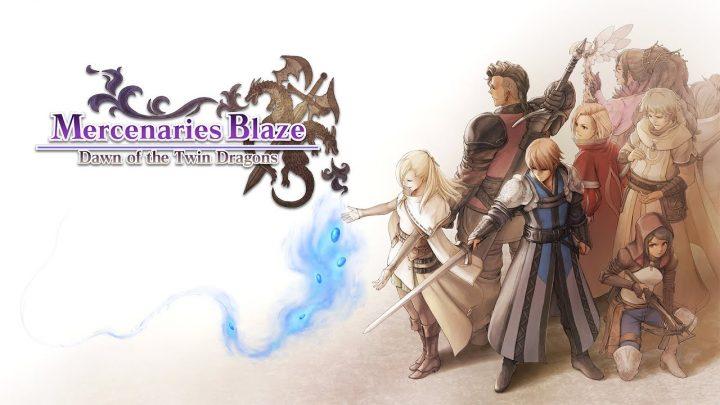RPG de estratégia Mercenaries Blaze: Dawn of the Twin Dragons chega ao Nintendo Switch em 17 de dezembro no ocidente