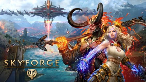 MMORPG Free-to-Play Skyforge chega em 04 de fevereiro de 2021 no Nintendo Switch