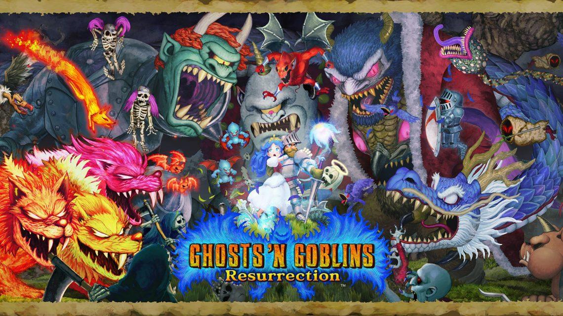 Capcom anuncia Ghosts 'n Goblins Resurrection para o Nintendo Switch