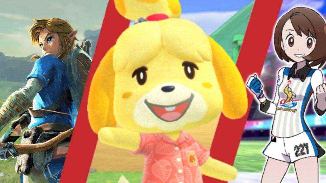 Europa: Nintendo revela os 20 jogos de Nintendo Switch mais jogados em 2020