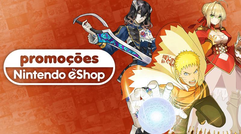 Promoções na eShop da América do Norte   Bloodstained: Ritual of the Night, Fate/Extella: Link, jogos da Bandai Namco, e muito mais