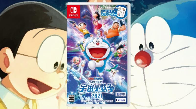Filme Doraemon: Nobita's Little Star Wars 2021 está ganhando adaptação em jogo para o Nintendo Switch no Japão