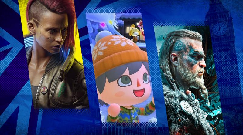 Reino Unido: Top 40 jogos mais vendidos entre os dias 06 e 12 de dezembro