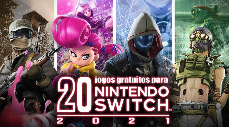 20 grandes jogos gratuitos para o Nintendo Switch   2021