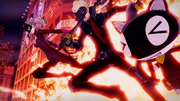 """Persona 5 Strikers   Novo trailer """"All-Out-Action"""""""