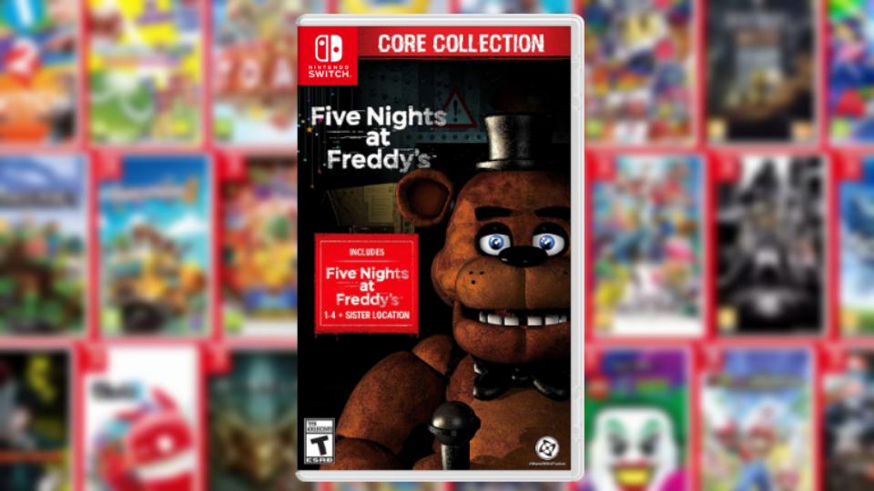 Jogos em formato físico da semana | Five Nights At Freddy's Core Collection