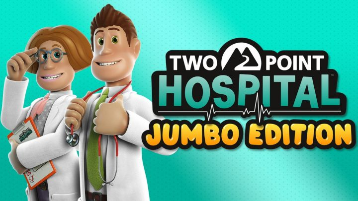 Two Point Hospital: JUMBO Edition chega ao Nintendo Switch em 05 de março, inclui quatro expansões e dois pacotes de itens