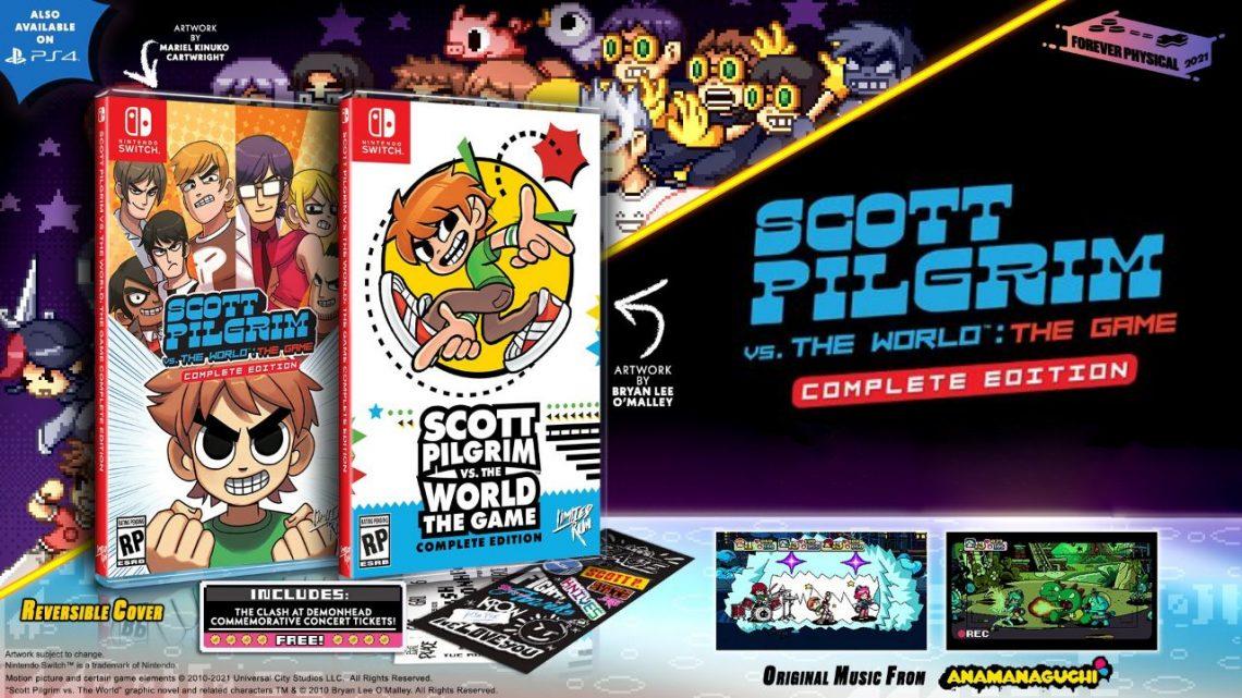 Scott Pilgrim vs. The World: The Game – Complete Edition está ganhando edição física pela Limited Run Games na América do Norte