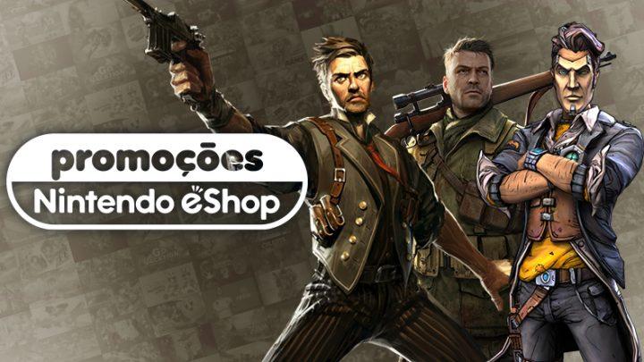 Promoções na eShop da América do Norte | BioShock: The Collection, Borderlands: Legendary Collection, Crysis Remastered, jogos da série Sniper Elite, e mais