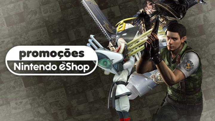 Promoções na eShop da América do Norte | Jogos da série Resident Evil, The Wonderful 101: Remastered, Panzer Dragoon: Remake, e mais
