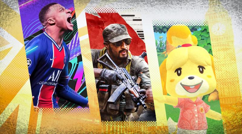 Reino Unido: Top 10 jogos mais vendidos em 2020