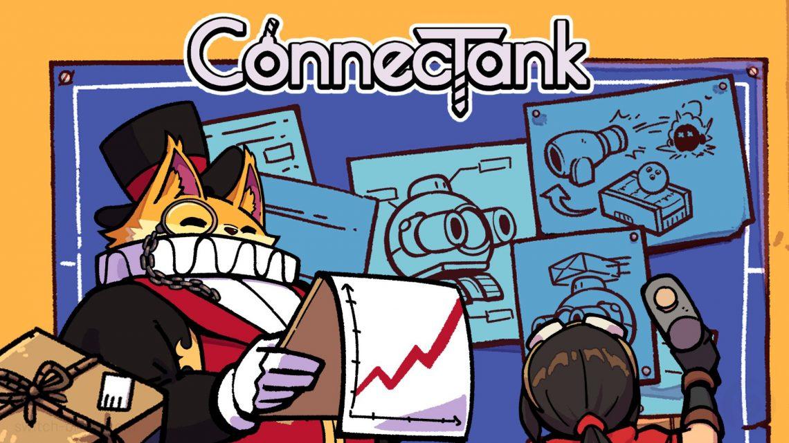 Natsume anuncia o jogo de ação e aventura 2D ConnecTank para o Nintendo Switch