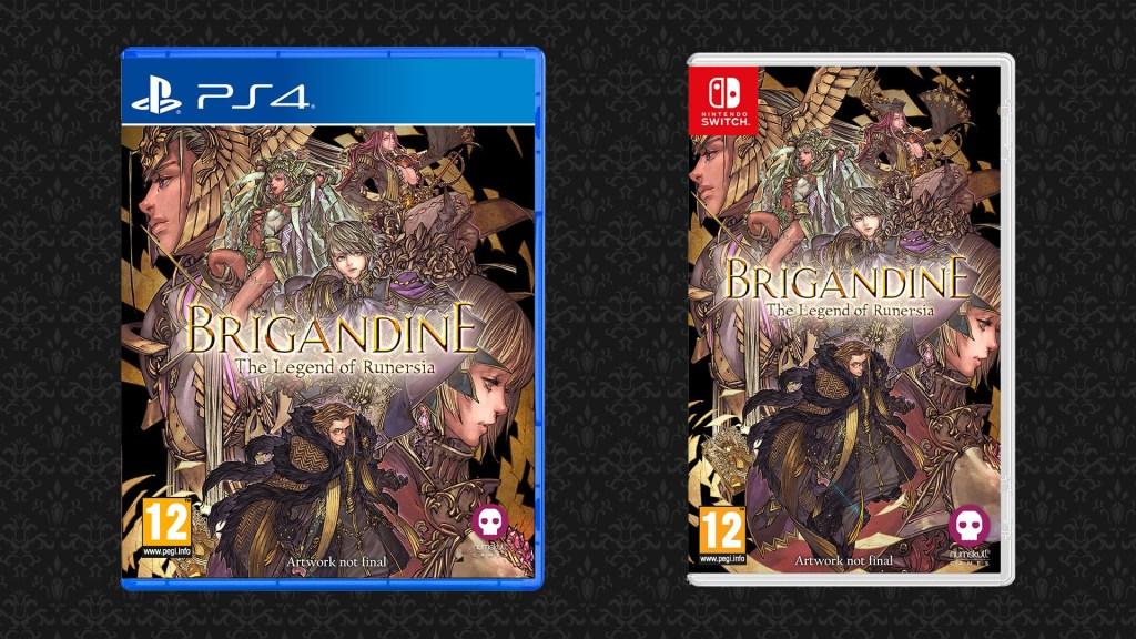 RPG tático Brigandine: The Legend of Runersia está ganhando edição física na Europa pela Numskull Games