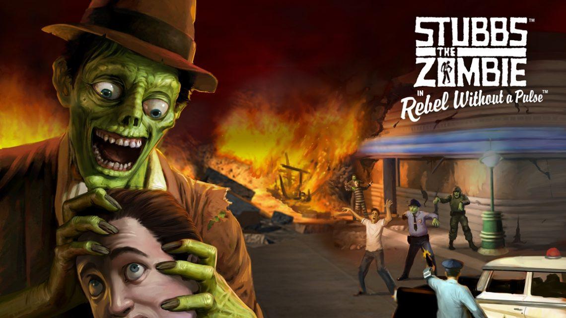 Stubbs the Zombie in Rebel Without a Pulse, jogo de ação em terceira pessoa de 2005, está ganhando uma versão para o Nintendo Switch