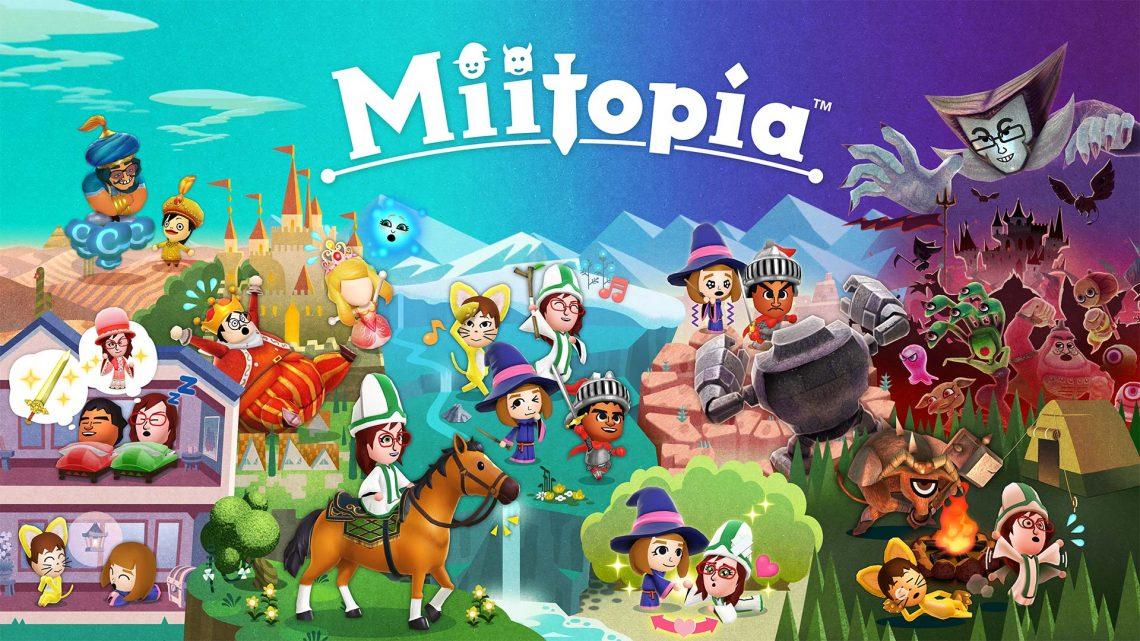 Nintendo anuncia o RPG Miitopia para o Nintendo Switch