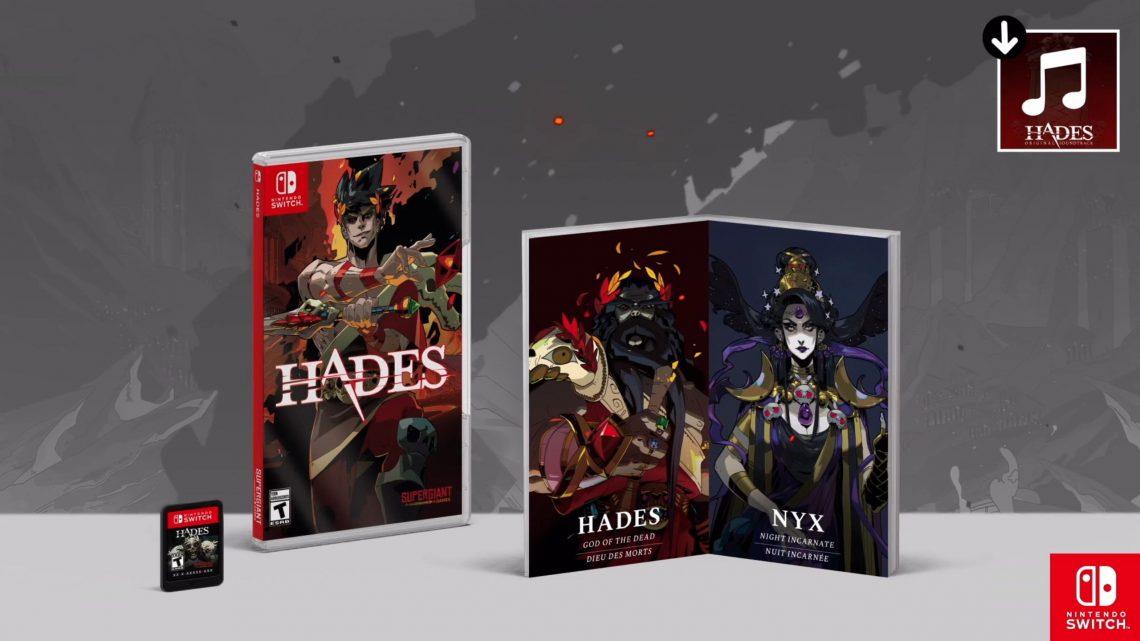 Popular Roguelike Dungeon Crawler Hades está recebendo edição física no Nintendo Switch em 19 de março
