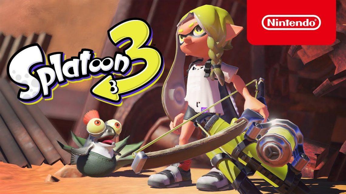 Nintendo anuncia Splatoon 3 para o Nintendo Switch