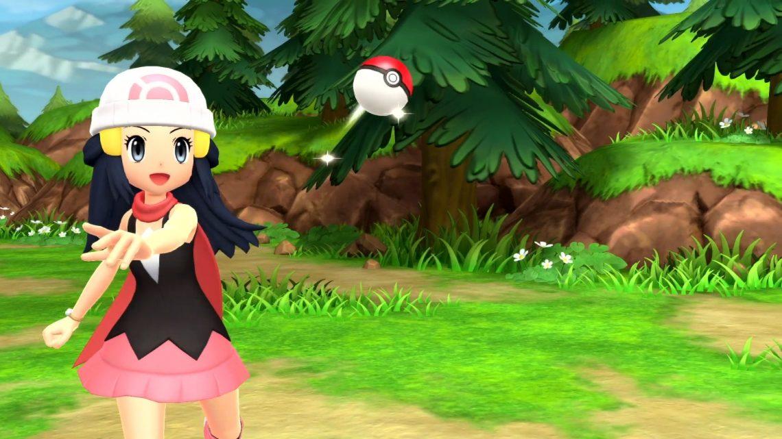 The Pokémon Company anuncia Pokémon Brilliant Diamond e Pokémon Shining Pearl para o Nintendo Switch
