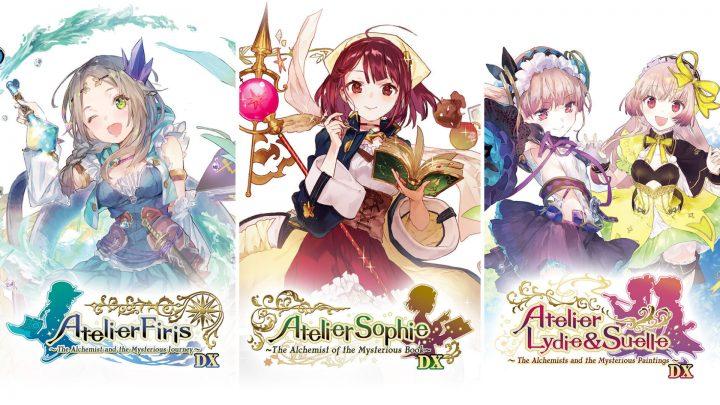 Atelier Mysterious Trilogy Deluxe Pack | Títulos incluirão o Photo Mode, artbook digital, modo de batalha acelerado, e adições específicas para cada jogo