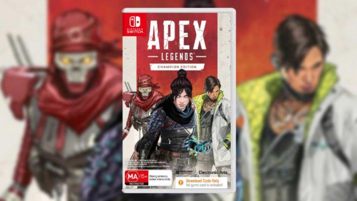 Apex Legends para o Nintendo Switch contará com edição física em seu lançamento, mas inclui apenas um código para download na caixa