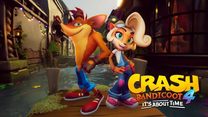 Activision anuncia Crash Bandicoot 4: It's About Time para o Nintendo Switch