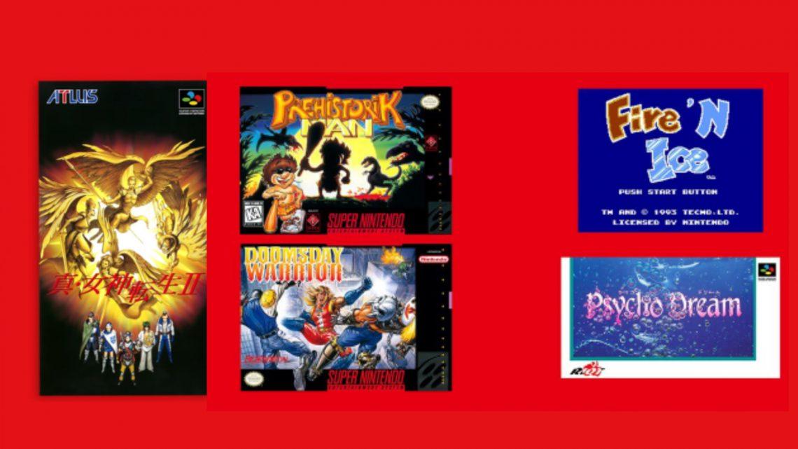 NES & SNES: Nintendo Switch Online   Shin Megami Tensei II, Doomsday Warrior, Psycho Dream, e mais chegam em 17 de fevereiro