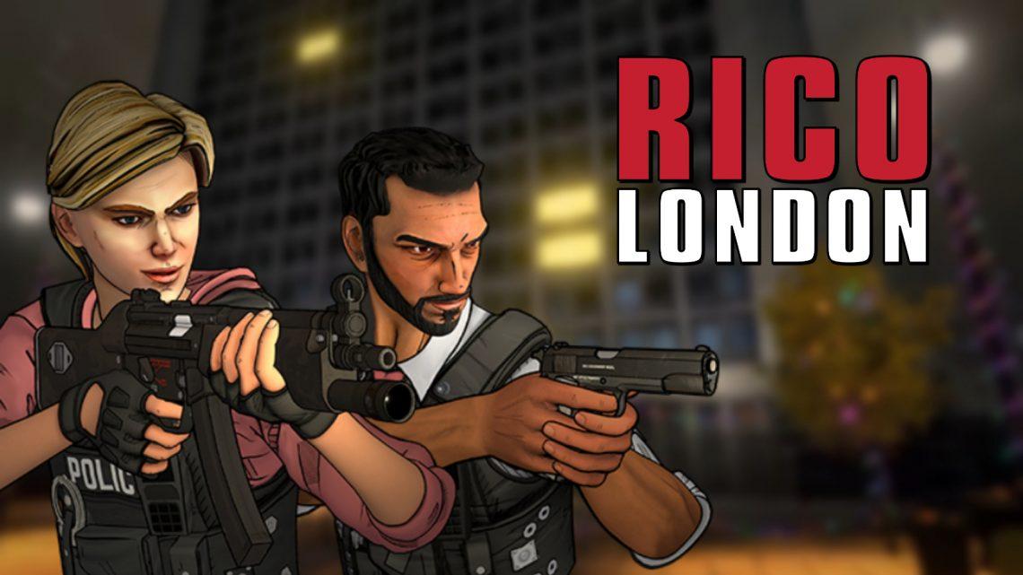 Numskull Games anuncia o jogo de tiro em primeira pessoa RICO London para o Nintendo Switch