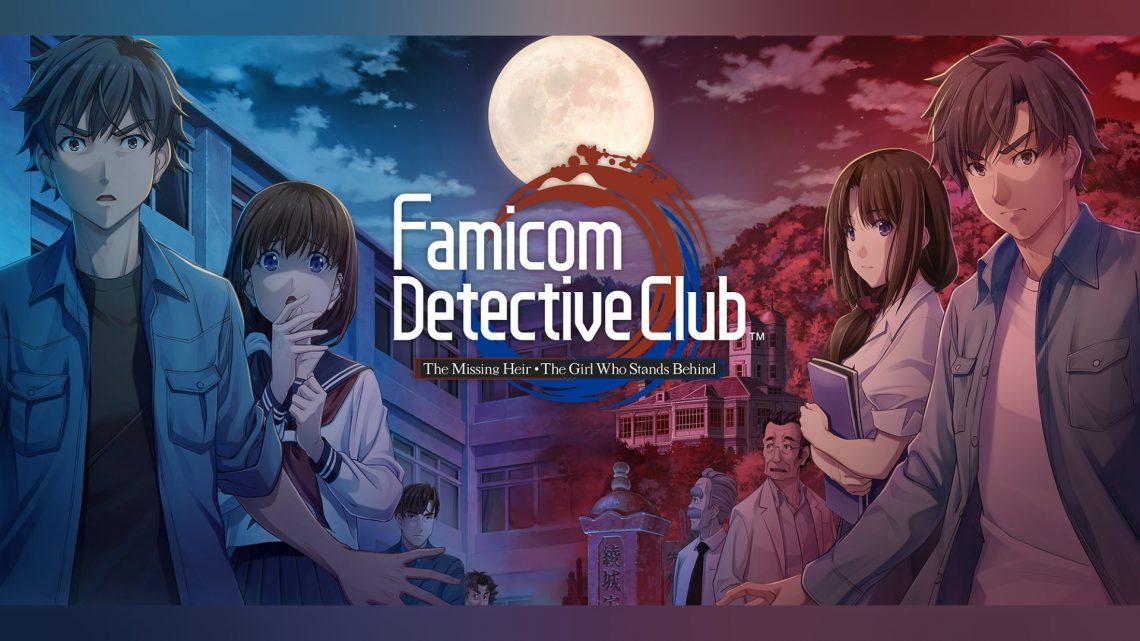 Remakes de Famicom Tantei Club I & II chegam ao ocidente em maio sob o nome de Famicom Detective Club: The Missing Heir e The Girl Who Stands Behind