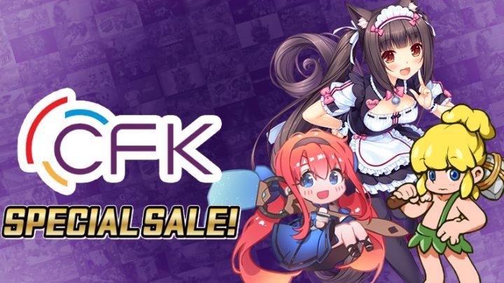 CFK Special Sale | Ofertas de até 80% de desconto na eShop em títulos como QV, Nekopara, Wonder Boy Returns Remix, e mais