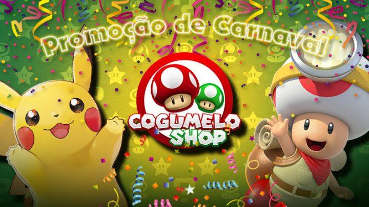 Dica: Cogumelo Shop está oferecendo grandes títulos first-party do Nintendo Switch a partir de R$ 259,80