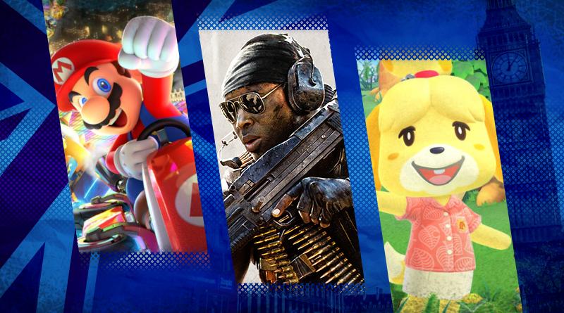 Reino Unido: Top 40 jogos mais vendidos entre os dias 31 de janeiro e 06 de fevereiro