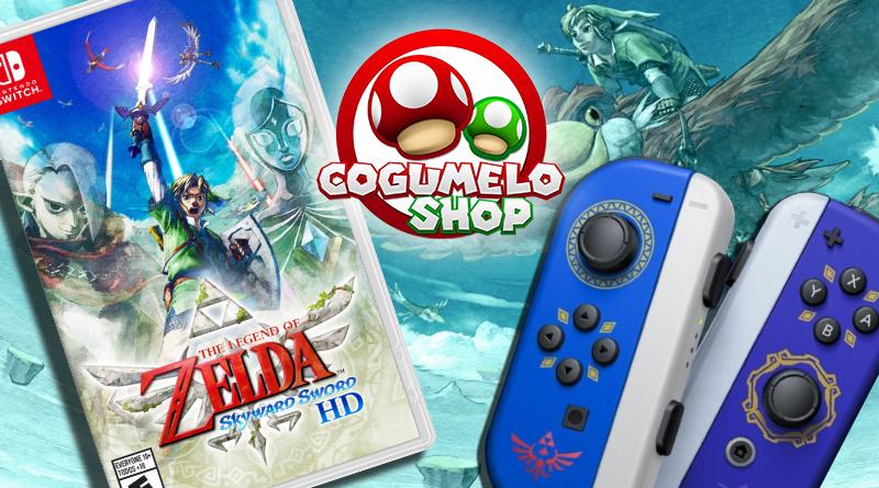 Cogumelo Shop está realizando pré-venda de The Legend of Zelda: Skyward Sword HD por R$ 349,80 à vista; Novo par de Joy-Con temático também pode ser reservado