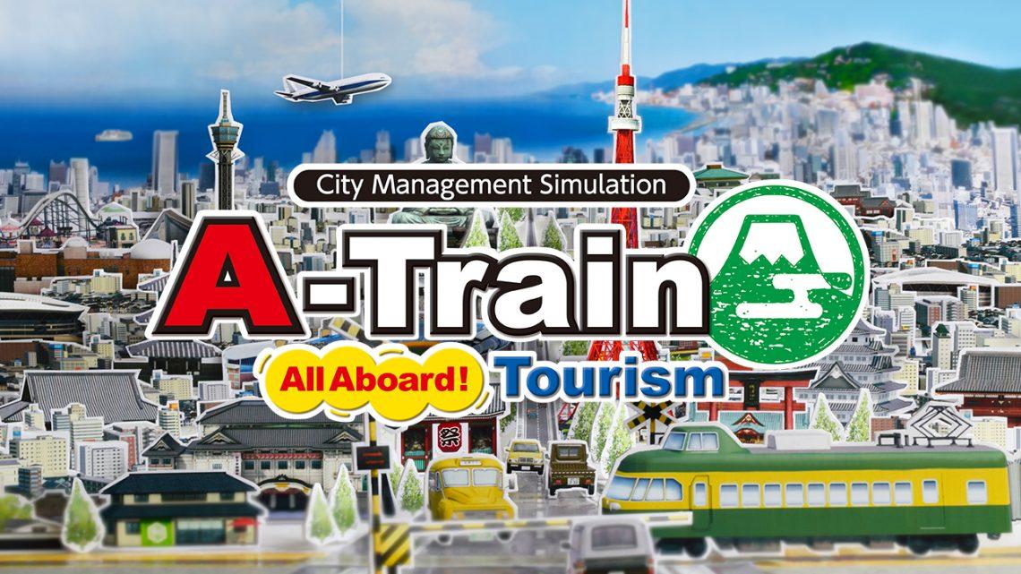 A-Train: All Aboard! Tourism, jogo de simulação de desenvolvimento urbano, chega ao ocidente em 12 de março na eShop do Nintendo Switch