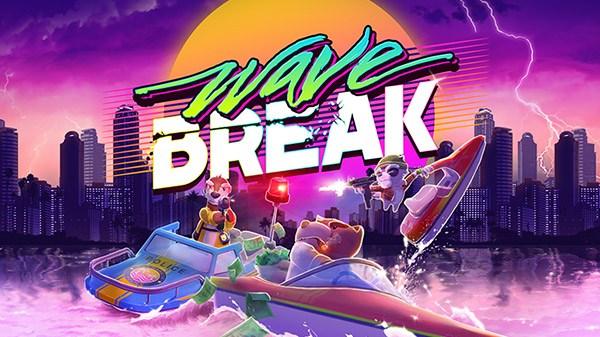 """Funktronic Labs anuncia o jogo de """"skateboating"""" estilo arcade Wave Break para o Nintendo Switch"""
