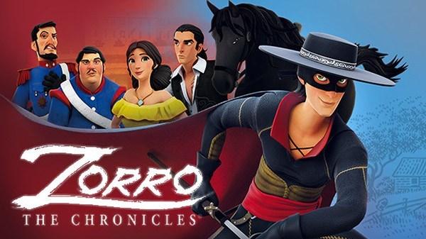 BTC Studios anuncia o jogo de Ação e Aventura Zorro: The Chronicles para o Nintendo Switch