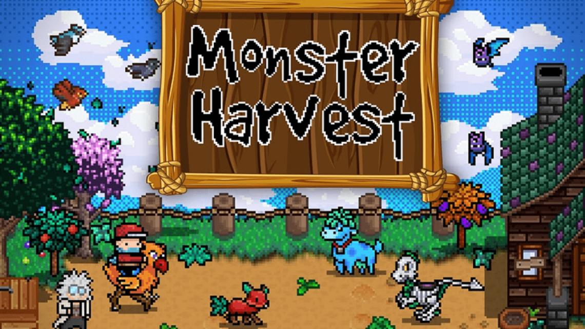 Monster Harvest, RPG de ação com gerenciamento de recursos, chega ao Nintendo Switch em 13 de maio através da eShop, com versão física vindo em junho