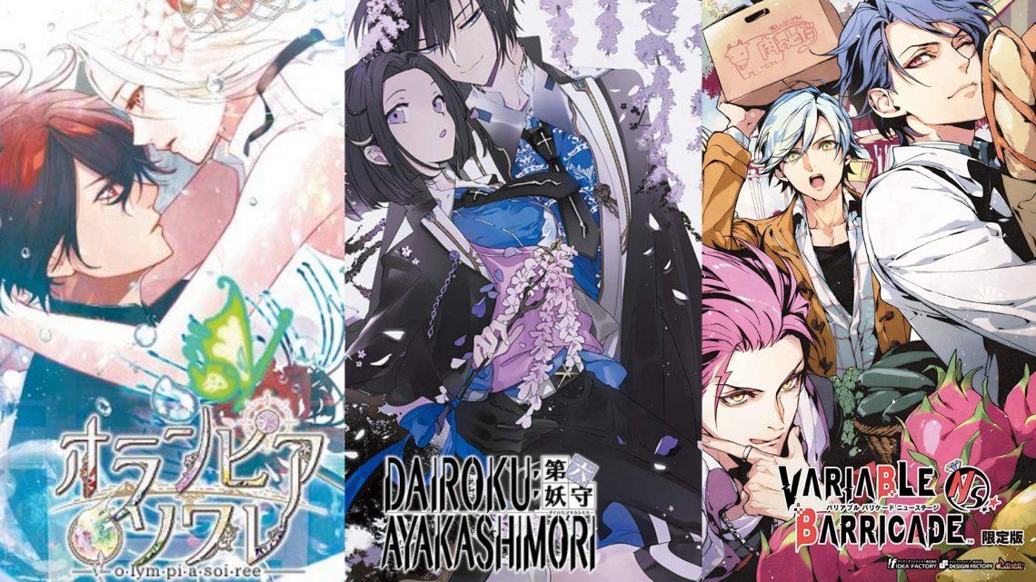 Otome visual novel Dairoku: Agents of Sakuratani, Olympia Soirée, e Variable Barricade recebem atualização na janela de lançamento ocidental