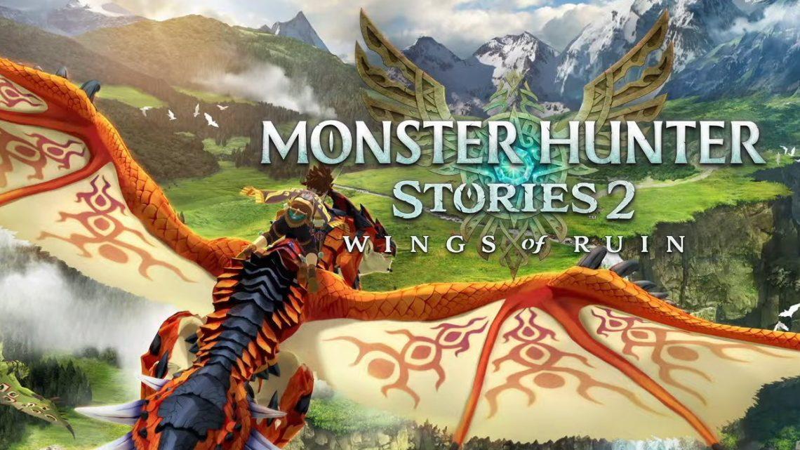 Monster Hunter Stories 2: Wings of Ruin chega ao Nintendo Switch em 9 de julho, revelado amiibo de Ena, Razewing Ratha e Tsukino