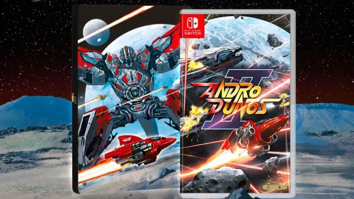Andro Dunos II, sequência do clássico Shoot 'em up de 1992 da Visco, está a caminho do Nintendo Switch e Nintendo 3DS