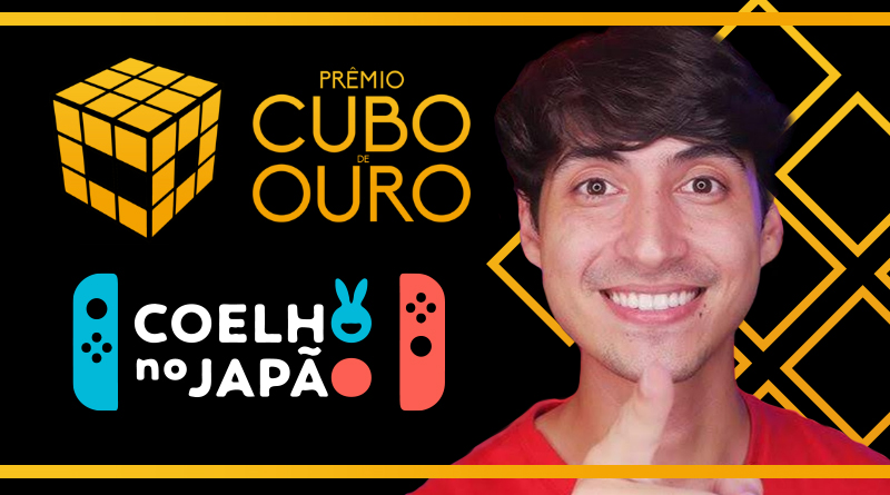 Representando a comunidade Nintendista brasileira, Coelho no Japão é indicado ao Cubo de Ouro, a maior premiação Geek do Brasil