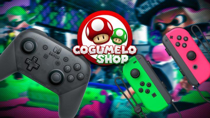 Cogumelo Shop está oferecendo o Pro Controller do Nintendo Switch e Joy-Cons a preços promocionais por tempo limitado